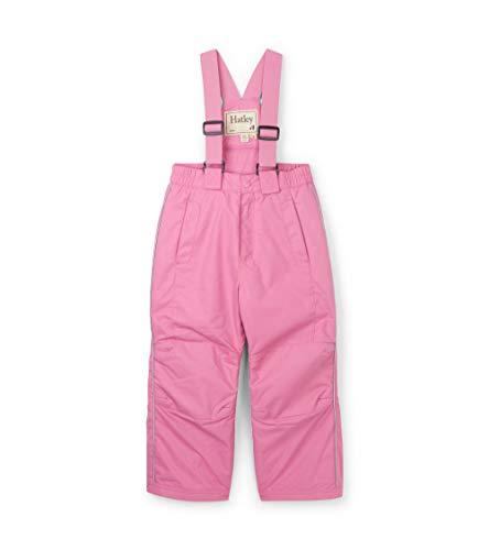 Hatley - Pantalones de Nieve para niños, Rosado, 10 Años