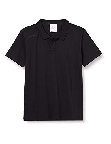 uhlsport Herren Essential Polo Shirt T, schwarz, XXL