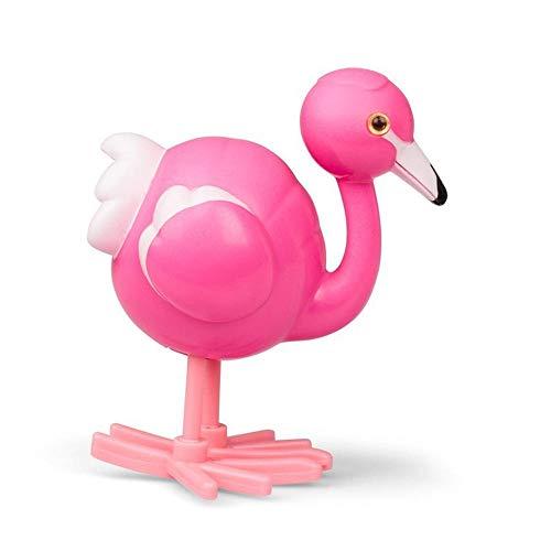 trendaffe Flamingo Aufziehfigur - Aufzieh Figur Wind Up Figur