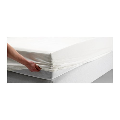 Dvala White Fitted Sheet Cotton