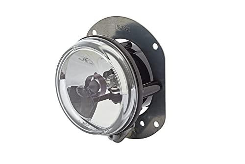 HELLA 1N0 008 582-001 FF/Halogène-Projecteur antibrouillard - 12V - rond - Montage encastré - disperseur limpide - Couleur du voyant: transparent - gauche/droite