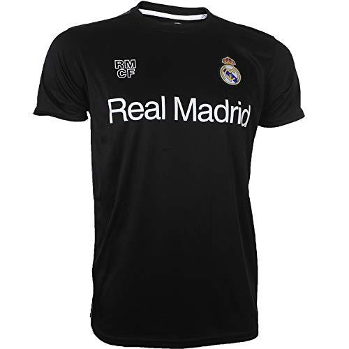 Real Madrid Trikot Offizielle Kollektion – Erwachsenengröße XL Schwarz