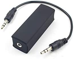 Ranking integrated 1st place Speaker Cable 3.5mm Aux Audio Excellence Filter Ground Noise Iso Loop