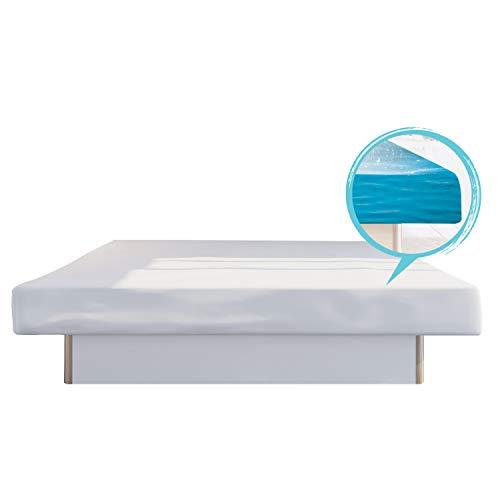 bellvita WASSERBETTEN SONDERAKTION inkl. Lieferung und AUFBAUSERVICE durch Fachpersonal, 200 cm x 220 cm (weiß)