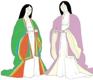 Heian Japanese Woman's Informal Outfit (Hitoe, Uchigi and Uwagi) Pattern