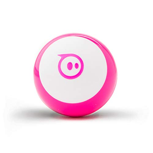"""Sphero Mini (Pink) App-Enabled Programmable Robot Ball - STEM Educational Toy for Kids Ages 8 & Up - Drive, Game & Code with Sphero Play & Edu App, 1.57"""""""