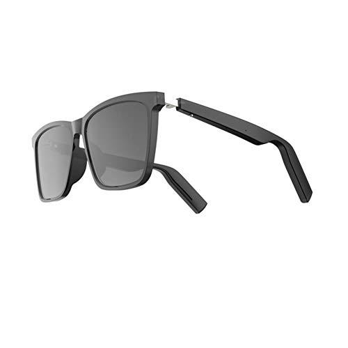 WXJWPZ BBluetooth 5,0, Gafas de Sol Deportivas Inteligentes, estéreo inalámbrico, música, Sonido HD, Gafas de Sol, Auriculares Deportivos, Auriculares PK conducción ósea