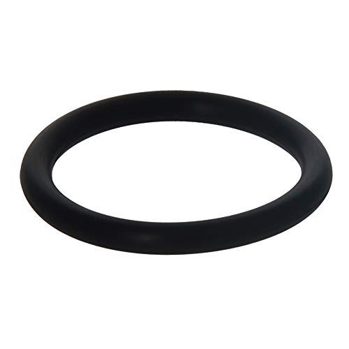 Othmro Juntas tóricas de goma de flúor, 29 mm de diámetro exterior, 22,8 mm de diámetro interior 3,1 mm de ancho, junta de sellado, negro, paquete de 10