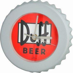 De Simpson's - Duff Bier Fles Top Wandklok