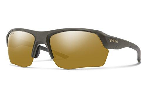 Smith Tempo Max Sunglasses Matte Gravy/Chromapop Polarized Bronze Mirror
