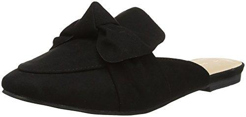 Dorothy Perkins Lux Bow, Sandales Bout Ouvert Femme, Noir (Black 130), 39 EU