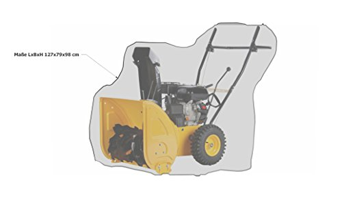 GRASEKAMP Qualität seit 1972 Abdeckplane Abdeckhaube Schutzhülle für Schneefräse Schneeräumgerät