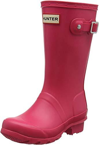 Hunter Wellington Boots, Botas de Agua para Niñas, Rosa (Pink Rbp), 32 EU