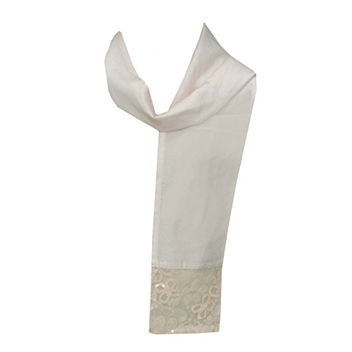 CARBONE - feestelijke doek sjaal stola meisjes, roze
