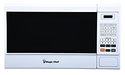 Magic Chef Cu. Ft. 1000W Countertop Oven in White MCM1310W 1.3 cu.ft. Microwave