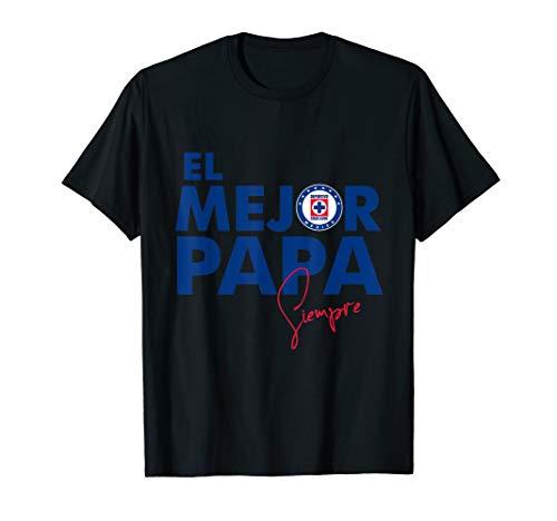 Cruz Azul Soccer Mexican Jersey EL mejor papa T-Shirt T-Shirt