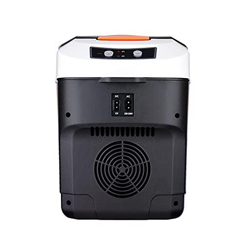 LK-HOME Mini Nevera, Refrigerador Congelador Portátil De 10 L, Adecuado para El Dormitorio Y El Automóvil, Refrigerador Práctico Portátil Silencioso,Mechanical
