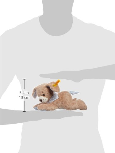 Steiff 239700 – Gute Nacht Hund Spieluhr, 22 cm, blau - 2
