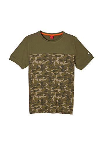 s.Oliver Junior Jungen 402.10.102.12.130.2057953 T-Shirt, Green, L