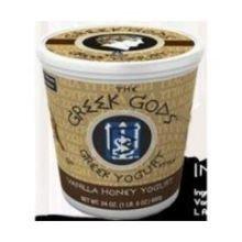 Greek Gods Vanilla Honey Greek Yogurt, 24 Ounce - 6 per case.