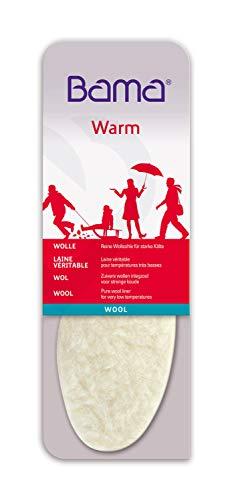 Bama Unisex Wool Wollsohle Einlegesohle, Transparent, 43 EU