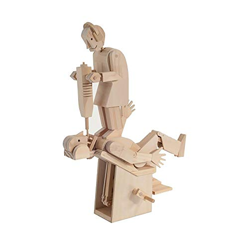 Unbekannt Demon Dentist - Timberkits Self-Assembly Holzkonstruktion Moving Automata Mod