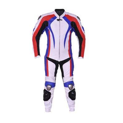 Corso Fashion Herren Motorrad Lederkombi - Motorrad Rennsport Schutzkleidung Bikerausrüstung - Maßanfertigung Style211