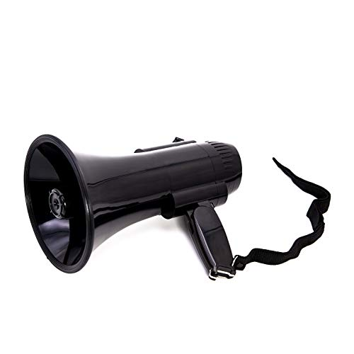 BEMLDY Portable Megaphone Bullhorn 30 watt Power with Built-in...