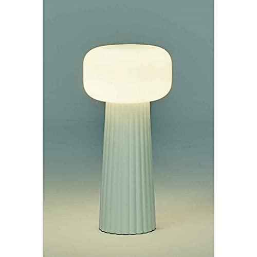 Mantra Iluminación. Modelo FARO. Lámpara de sobremesa fabricado en cristal acabado en color blanco