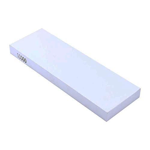 Yosoo Schleifstein, Weiß, 10.000 feine Körner, doppelseitiger Schleifstein