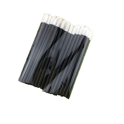 Pinceau Jetable Marque Rouge À Lèvres Lip Gloss Cosmétiques Outil Wands Applicateur Outil De Beauté Kits 10 Pack Noir