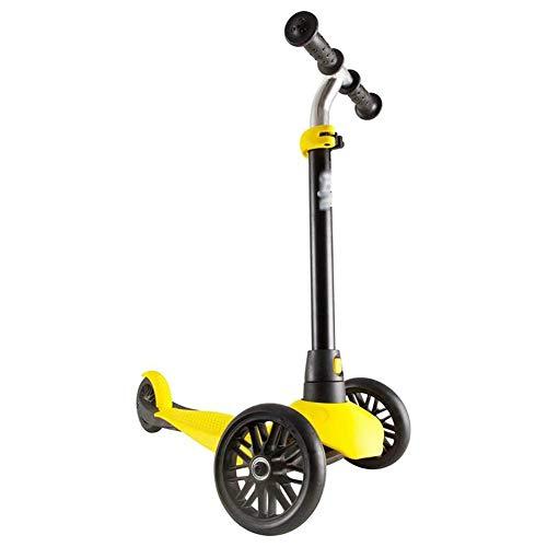 CAIMEI Kick Scooter para Niños Pequeños, Ajustable, Capacidad de 20 Kg, Freno Trasero de Pedal Ancho, Tabla para Niños de 2 a 4 Años de Edad, Adulto, Niño, Juguete, Coche de Equilibrio, Mini