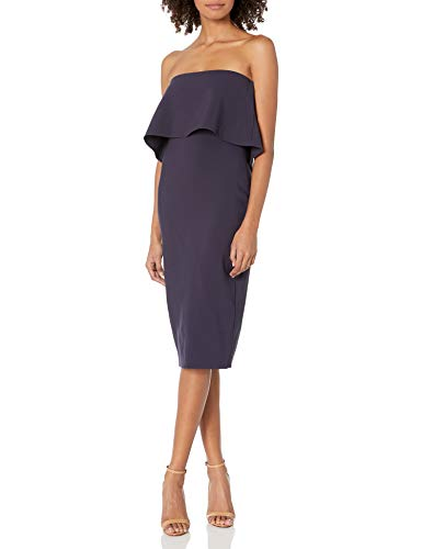 LIKELY Women's Driggs Strapless Dress, Navy, 4