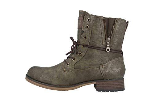 MUSTANG Shoes 1139-630-77 Bottes grandes pour femme Vert, vert, 44 EU
