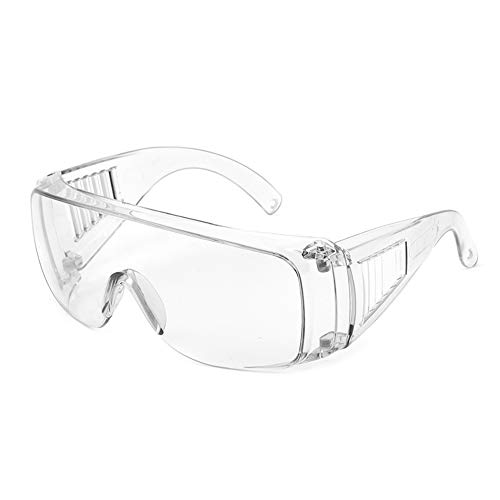 Cyxus Schutzbrille für Brillenträger Laborbrille Winddicht für Tischler, Gärtner, Bauarbeiter, Laborpersonal