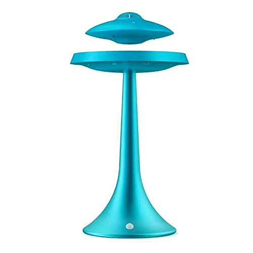 FAGavin GHYY - Lámpara de altavoz antigravedad inalámbrica inteligente Bluetooth estéreo para la cabecera del hogar (color: azul)