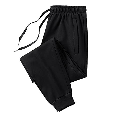 Generic-2 Pantalones de salón para Hombre Pantalones Deportivos Sueltos Cordón Cintura elástica Resistencia al Desgaste para Exteriores Bolsillos Pantalones