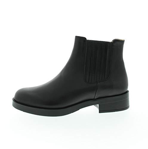 Brako Dames laarzen Sara Negro (zwart) glad leder 602