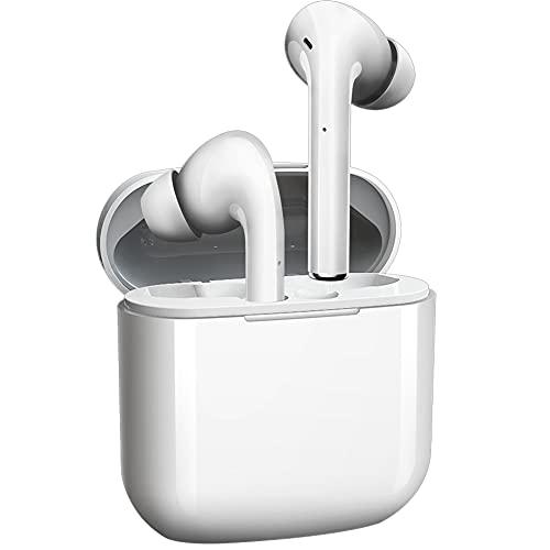 Auriculares Bluetooth Auricular Inalámbrico 5.0 Reducción Activa de Ruido HiFi Stereo Sport Auricular Control tactil Deportivos Impermeables IPX7 Auriculares con Caja de Carga para Android/iOS