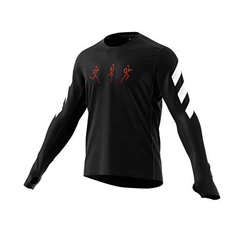 adidas Confgfx Sweatshirt Sudadera para Mujer, Hombre, Metgry, Extra-Small