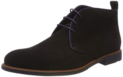 LLOYD Herren Garrick Desert Boots, Schwarz, 44 EU