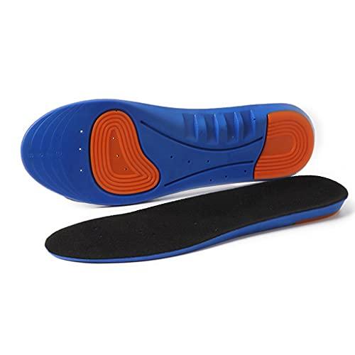 YFQHDD Deportes de la Memoria elástica de Silicona Plantillas de Gel y Inserciones de Zapato para Mujeres y Hombres Zapatos Transpirables Almohadilla (Color : 4 Pairs, Size : S(EU Size 33-37))