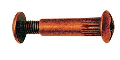 GIUNZIONE X MOBILI BRONZATE MM. 8X30-VITE 15** CARTOMATICA Confezione da 250PZ