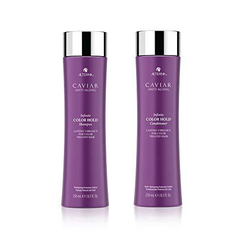 Alterna Caviar - Champú y acondicionador antienvejecimiento Infinite Color Hold 250 ml Duo