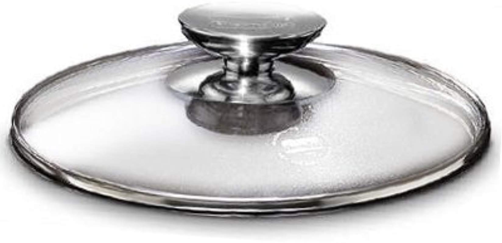 Berndes 007028 SignoCast Universal Glass Lid With Stainless Steel Rim And Knob 11 5 Inches