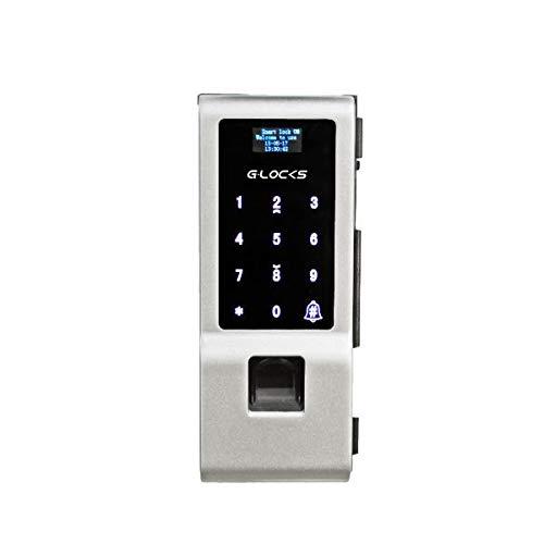 Fechadura Biométrica G-Locks Vitro 50 - Porta de Vidro Pivotante