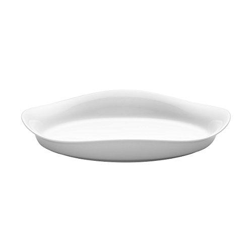 Georg Jensen GJ 226524 Vaisselle, diamètre 36 cm, Porcelaine, Blanc, 36 x 36 x 1,12 cm