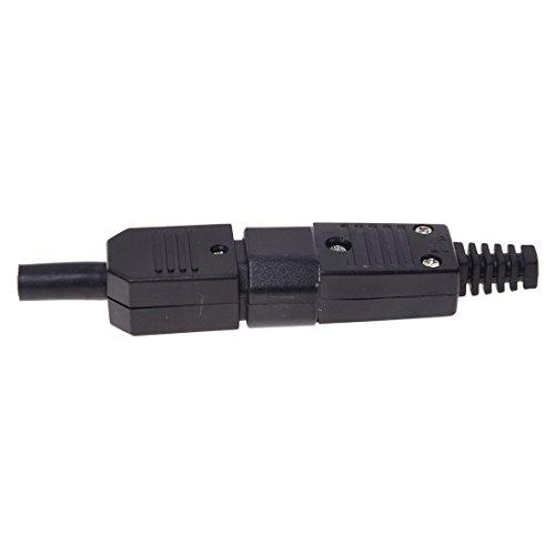 Motyy 250V 10A Conector de Potencia IEC 320 C14 claviaj a C13 Enchufe