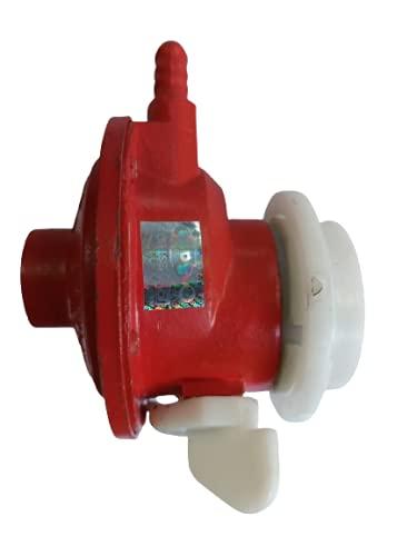 LP Gas Regulator Suitable for Bharat/INDANE/HP Cylinders, Blue, 1...
