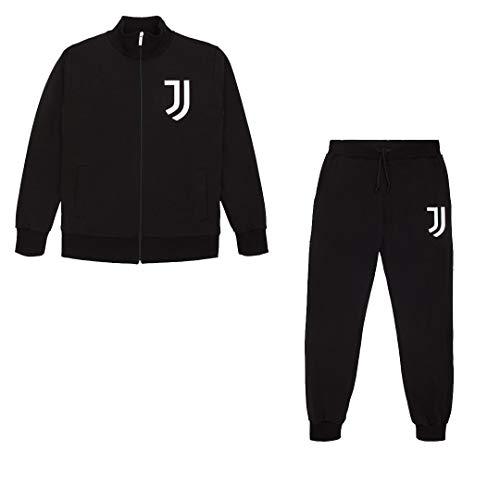 JUVE Juventus Tuta Uomo Man Track - Collezione 2020/2021-100% Originale - 100% Prodotto Ufficiale - Colre Nero - Scegli la Taglia (Taglia M)
